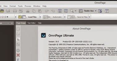omnipage ultimate  full patch key soft
