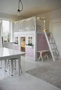 Lit Cabane Mezzanine : le plus beau lit cabane pour votre enfant chambre iris chambre enfant lit cabane et beaux ~ Melissatoandfro.com Idées de Décoration