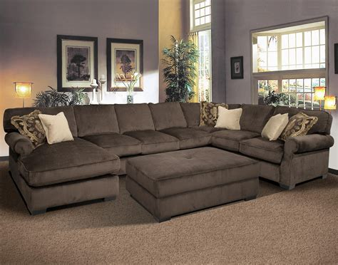 Oversized Sectionals grand island oversized cocktail ottoman for sectional sofa