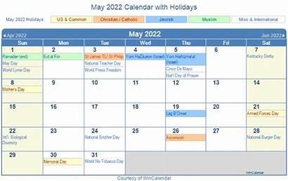 Calendar 2022 Holidays Printable Win Holiday Wincalendar