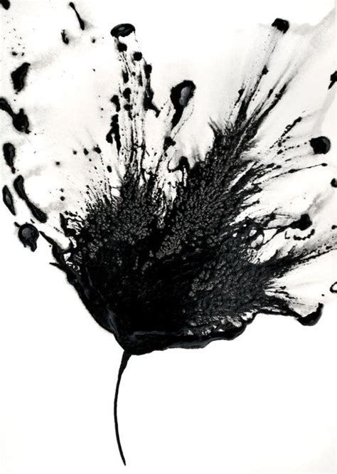 Abstract Black And White Artwork by Gallery White Floral Artwork Drawings Gallery