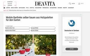 Bar Aus Holzpaletten : mobile bartheke selber bauen aus holzpaletten f r den ~ A.2002-acura-tl-radio.info Haus und Dekorationen