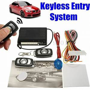 Universal Car Keyless Entry System Remote Fob Central
