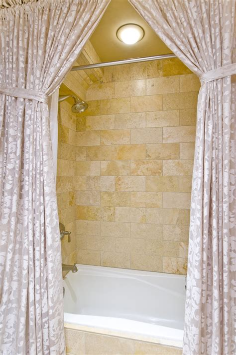 Decorating Ideas Bathroom Shower Curtains  House Decor