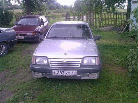 Opel Ascona For Sale by 1987 Opel Ascona For Sale Gasoline Ff Manual For Sale