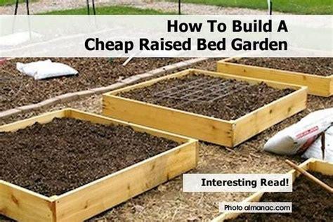 27032 diy raised garden beds how to build a cheap raised bed garden