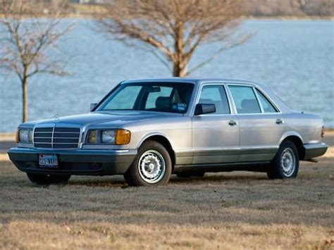 Wheels and lower spoiler pieces shown on this '84 were installed by amg. 1985 Mercedes-Benz 500SEL - German Cars For Sale Blog