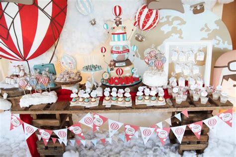 karas party ideas rustic hot air balloon birthday party