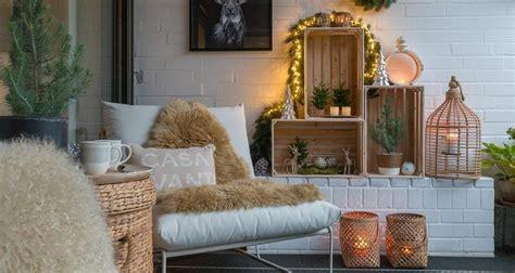 Gartendeko Mit Weinkisten by Weihnachtliche Terrassendeko Mit Weinkisten Sch 246 N Bei