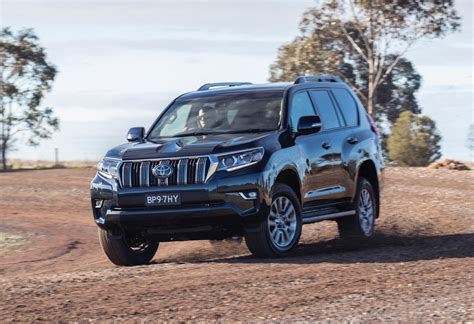 toyota prado revealed  sale  australia