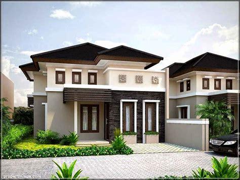 desain rumah modern minimalis  lantai gaya tropis
