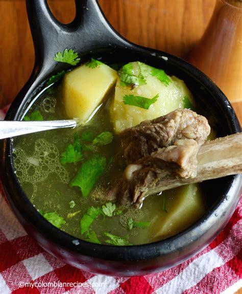 caldo de costilla colombian beef ribs broth