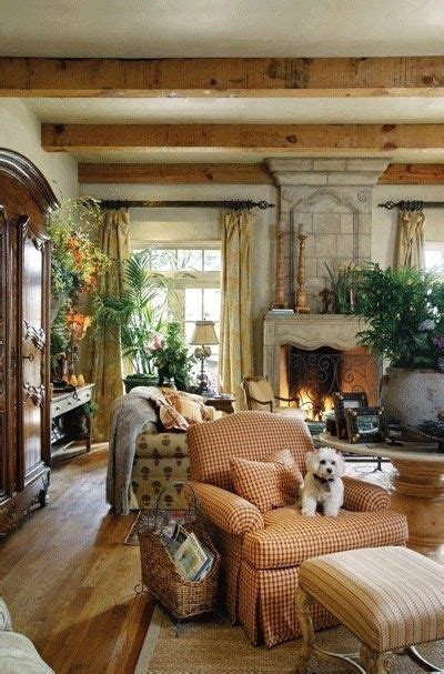 French Country Living Room  A Interior Design