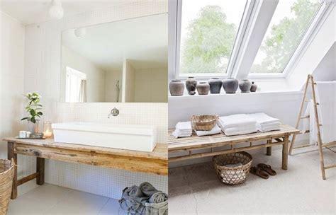 Deko Und Badezimmerideen Holz Bringt Gemütlichkeit