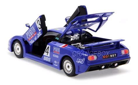 Michel hommell retired it to his 'manoir de l'automobile' museum in loheac, france. Bugatti Eb 110 Super Sport #34 24h Le Mans 1994 1:24 ...