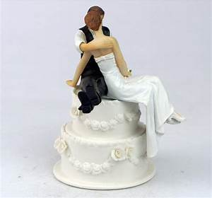 Wedding Cake Toppers Bride and Groom The Look of Love ...