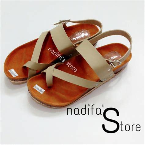 jual sandal sendal sepatu flat teplek murah lucu