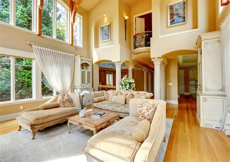 Decorating Ideas For Living Room With High Ceilings by 45 Beautiful Living Room Decorating Ideas Pictures