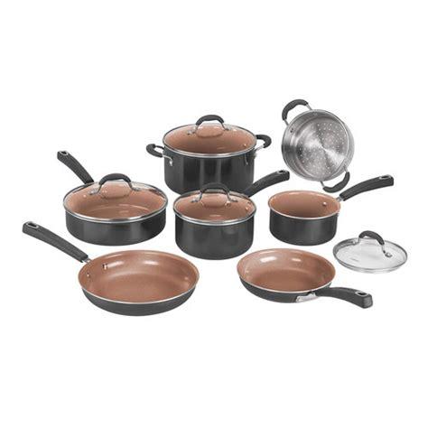 cuisinart ccp bk pc ceramica xt  stick cookware set  lifetime warranty buydigcom