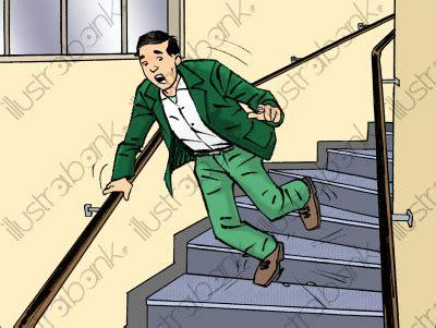 la chute illustration accidents du travail libre de droit sur illustrabank