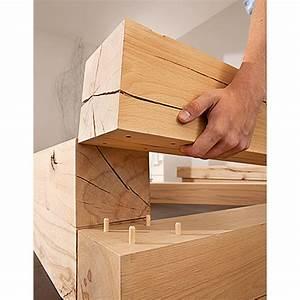 Holzverbindungen Ohne Schrauben : massiv blox holzbalken l x b x h 210 x 15 x 15 cm buche m belsysteme m belbau wohnen ~ Yasmunasinghe.com Haus und Dekorationen