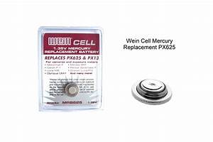 Px625 Wein Cell Mercury Replacement Battery For Pentax