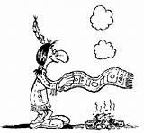 Humo Fumo Segnali Smoke Colorare Sinais Signals Coloring Dibujo Colorir Senyals Disegno Pintar Indianer Fum Martina Indiano Desenho Acolore Disegni sketch template