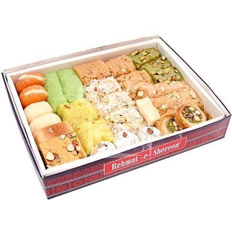 Send 2KG Mix Mithai Box   Rehmat e Shereen Sweets