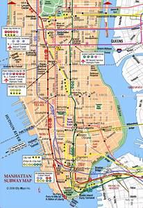 Plan De Manhattan : manhattan subway map pics map of manhattan city pictures ~ Melissatoandfro.com Idées de Décoration