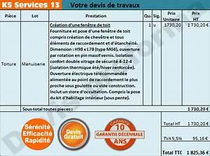 ks services 13 devis pose prix creation d39une fenetre With devis remplacement fenetre
