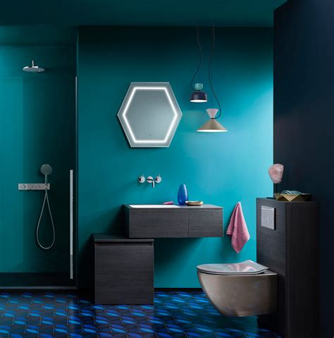 Small Kitchen Colour Ideas - get the look teal appeal luxury bathrooms uk crosswater holdings