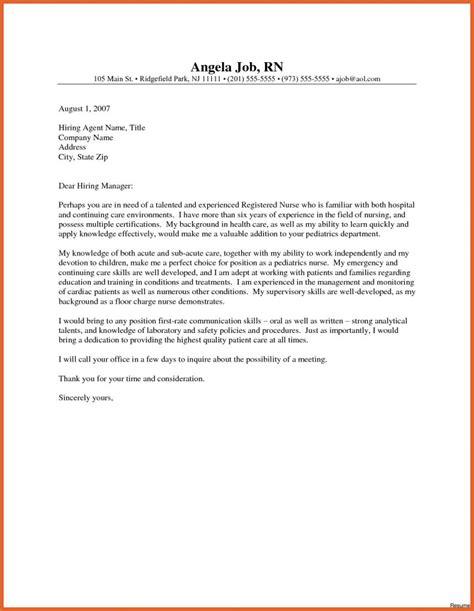 cover letter nursing new grad cover letter exles resume cover letter 8198