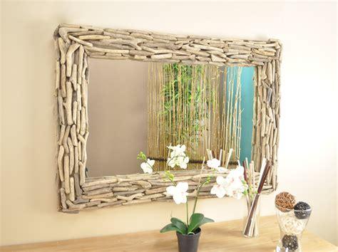 le bois flotte maison du monde miroir deauville en bois flott 233 1m x 70 cm