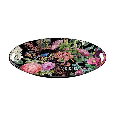 michel design works trays michel design works large metal tray botanical garden