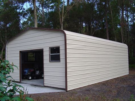 Metal Garage Pics by 18 X 26 X 8 Metal Building Delivered Installed One Car