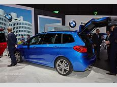 World Premiere for BMW's 7Seat MPV, the 2 Series Gran
