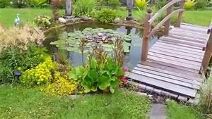 Teich Mit Wasserfall : mein teich mit wasserfall teil 1 youtube ~ Markanthonyermac.com Haus und Dekorationen