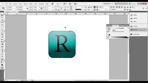 InDesign Tutorial: Easy way to create your own logo - YouTube