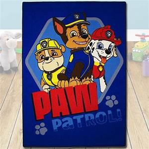 Paw Patrol Teppich : 133x95cm paw patrol spielteppich kinderteppich kinder teppich kinderzimmer blau ebay ~ A.2002-acura-tl-radio.info Haus und Dekorationen