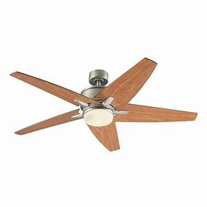 Harbor breeze ceiling fan with light and remote : Harbor breeze trestle ridge in brushed nickel ceiling