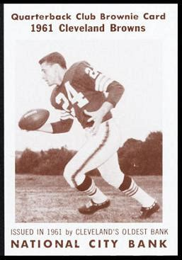 Bobby Franklin - 1961 National City Bank Browns #31 ...