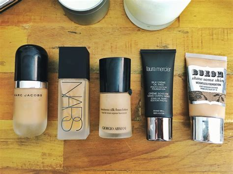 best drugstore light coverage foundation my favorite foundations for acne prone skin sazan