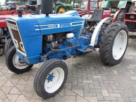 ford 4100 wheel tractor from netherlands for sale at