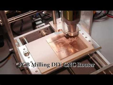 Lqfp Pcb Mcb Board Milling For Stm Homemade Cnc
