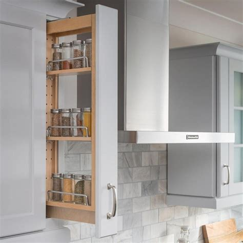 Spice Rack Slide Out Cabinet by Pull Out Spice Rack Kitchen Cabinet Storage 3 Quot