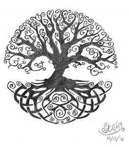 Collection of 25+ Yggdrasil Tattoo