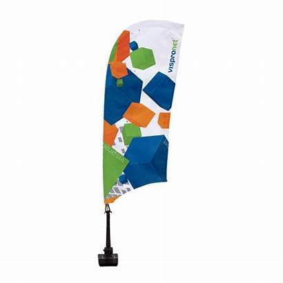 Flags Flag Custom Bowflag Vispronet Window Feather