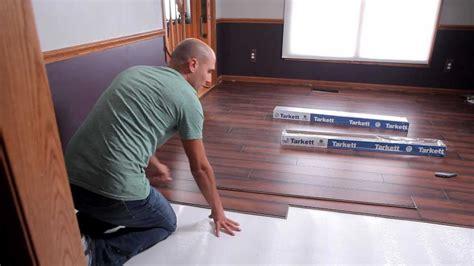 Tarkett Laminate Flooring Installation Youtube