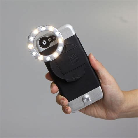 ring light with phone holder powerful smartphone flashes ring light iphone case