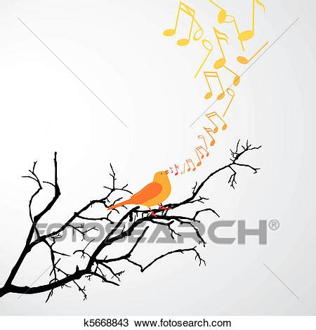 singing bird clipart
